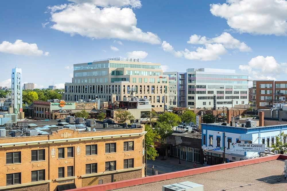 Photo of an Uptown Minneapolis view
