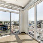 View of floor-to-ceiling windows and balcony door